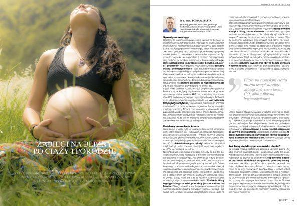 Zabiegi na blizny po ciąży i porodzie