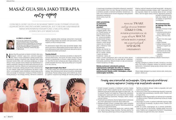 art of BEAUTY wydanie 01/2021 masaz gua-sha