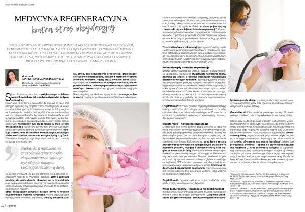 art of Beauty 01-2021 medycyna regeneracyjna